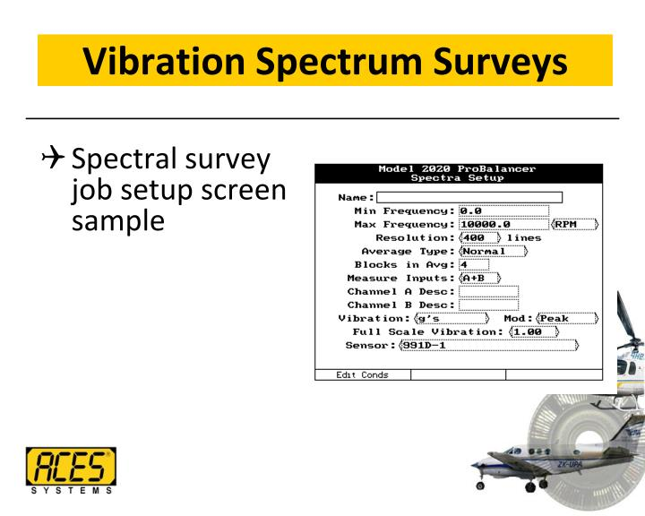 Vibration Spectrum Surveys