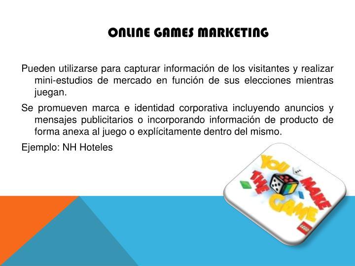 Online Games Marketing