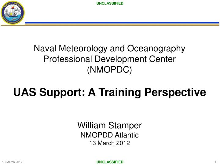 Naval Meteorology and Oceanography Professional Development Center