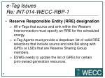 e tag issues re int 014 wecc rbp 1