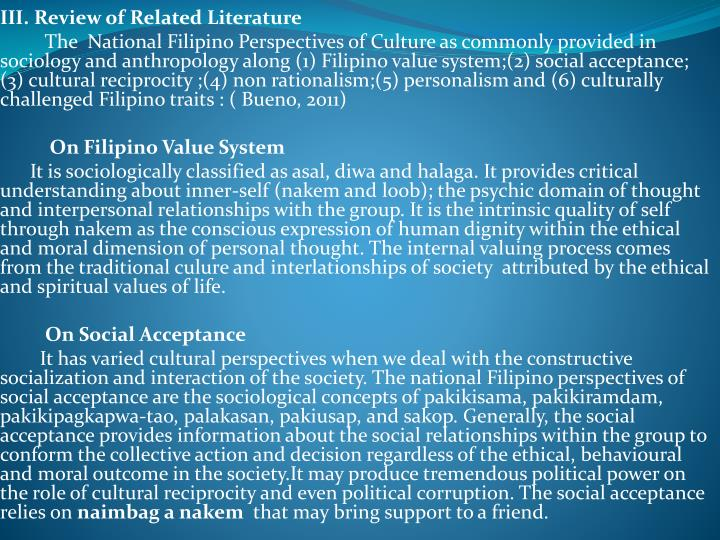 III. Review of Related Literature