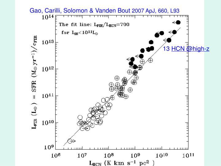 Gao, Carilli, Solomon & Vanden Bout