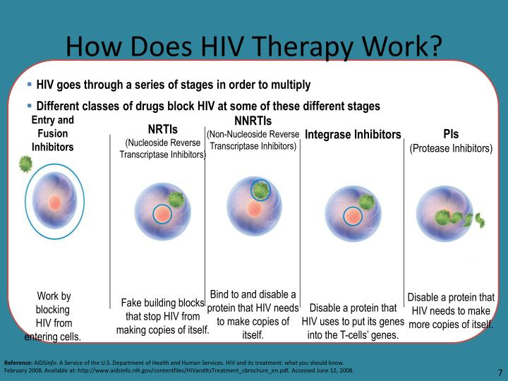 How Does HIV Therapy Work?