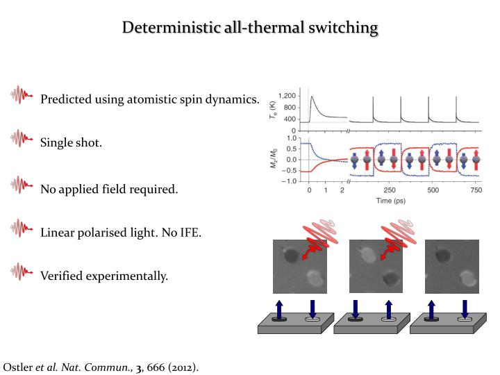 Deterministic all-thermal