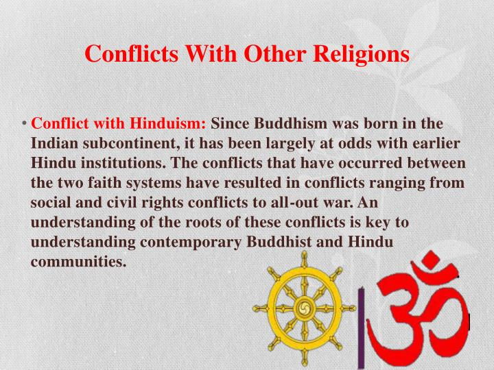 Conflicts With Other Religions