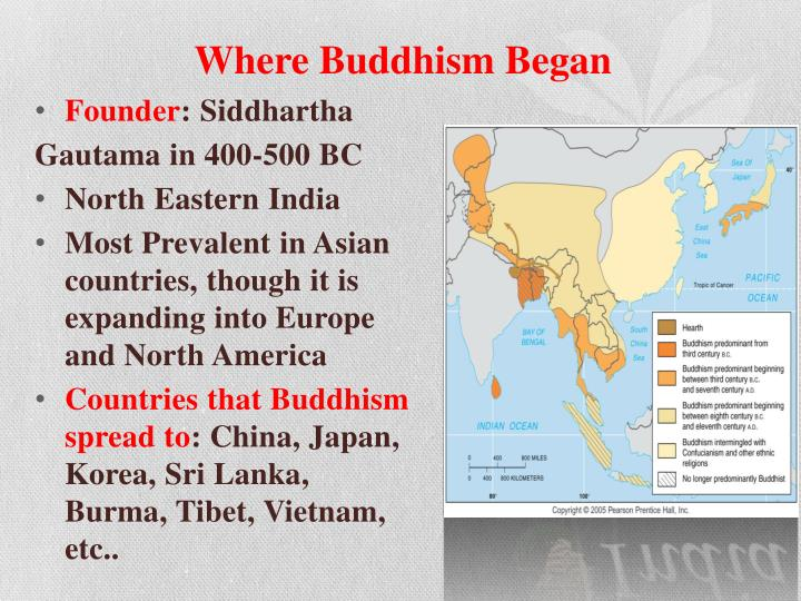 Where buddhism began