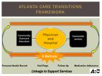 atlanta care transitions framework