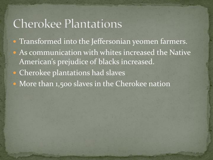 Cherokee Plantations