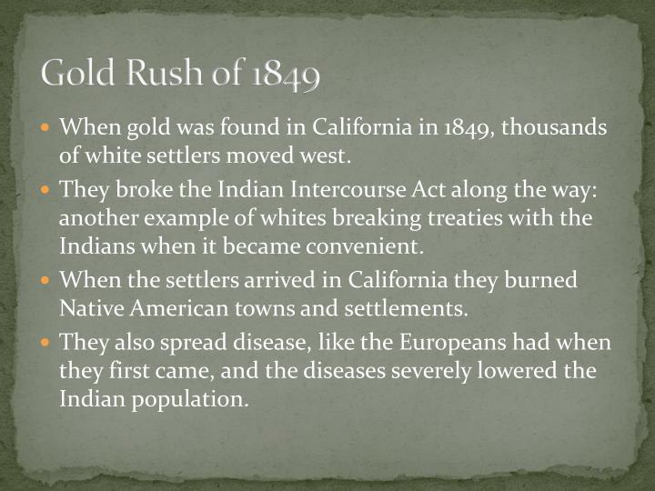 Gold Rush of 1849