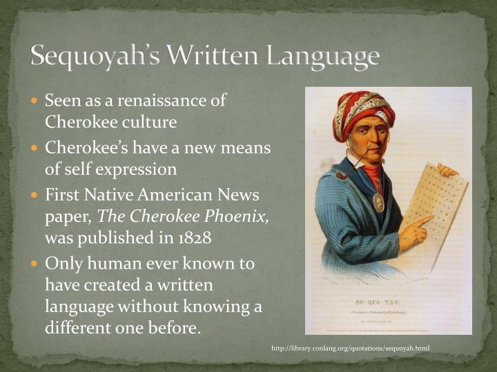 Sequoyah's