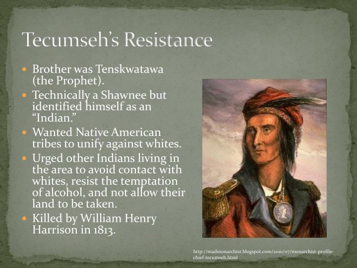 Tecumseh's Resistance