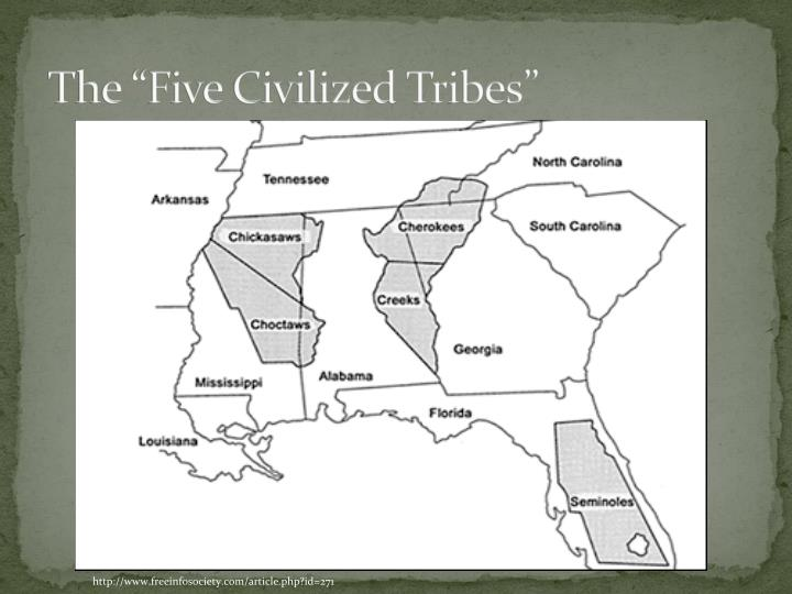 """The """"Five Civilized Tribes"""""""