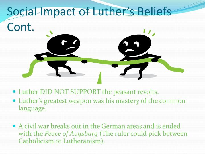 Social Impact of Luther's Beliefs