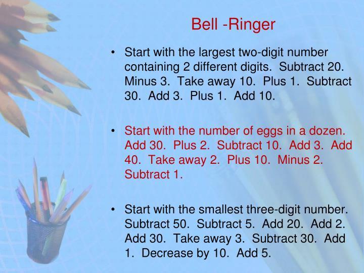 Bell -Ringer