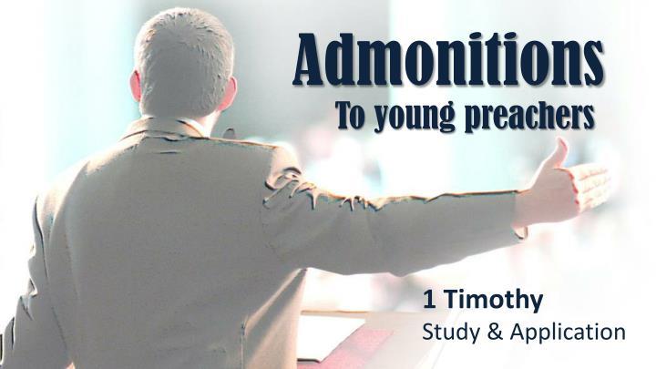 Admonitions