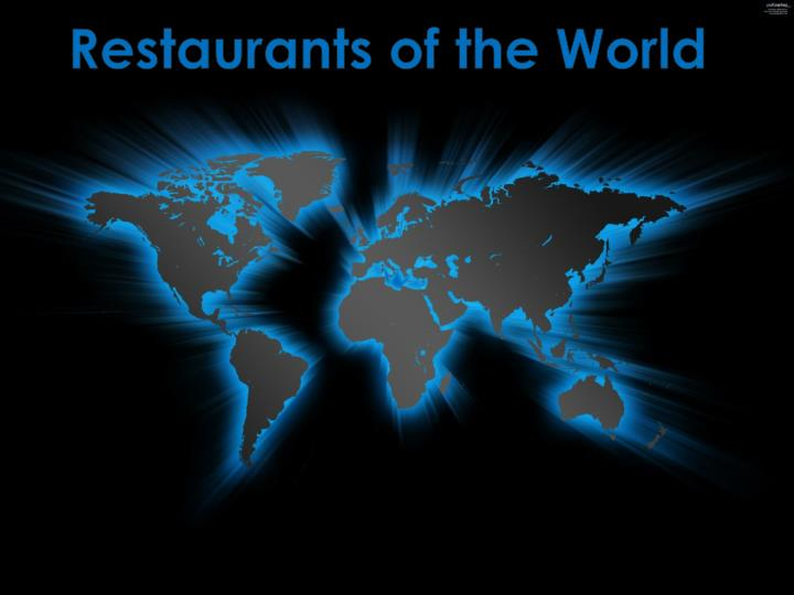 Restaurants of the World