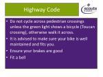 highway code1
