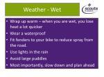 weather wet