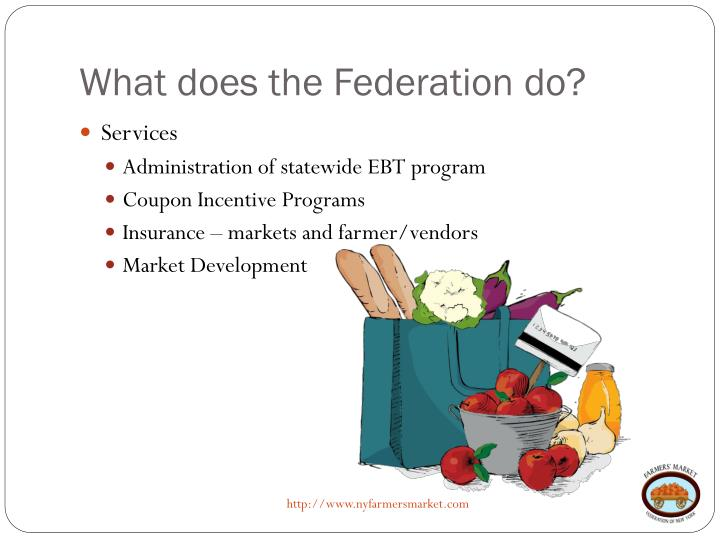 What does the Federation do?