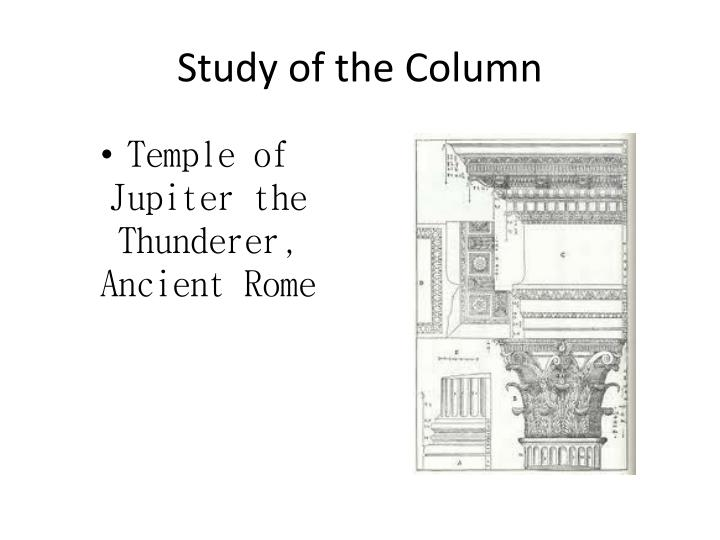 Study of the Column