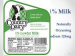 1 milk naturally occurring sodium 125mg