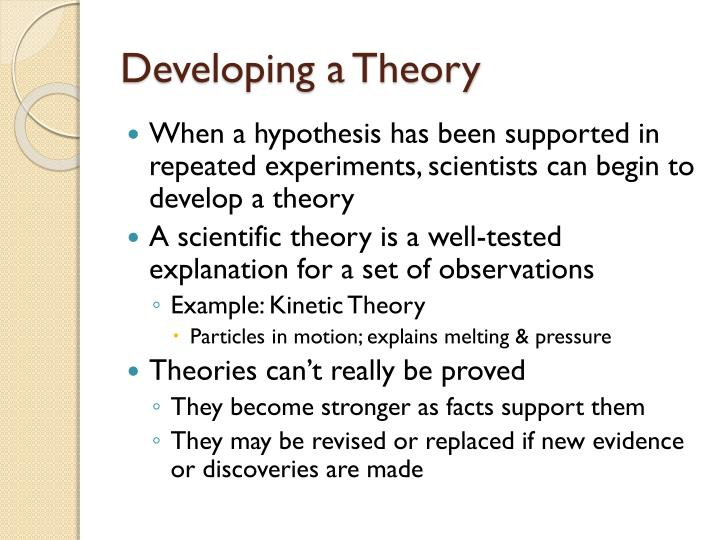 How Does a Hypothesis Become a Theory? - Studycom