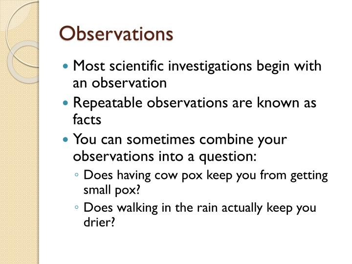 PPT - Section 1.2: Using a Scientific Approach PowerPoint ...