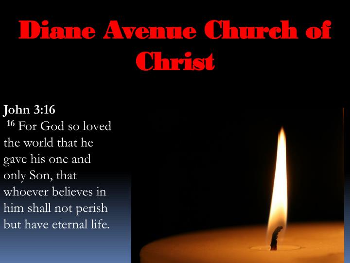 Diane Avenue Church of Christ