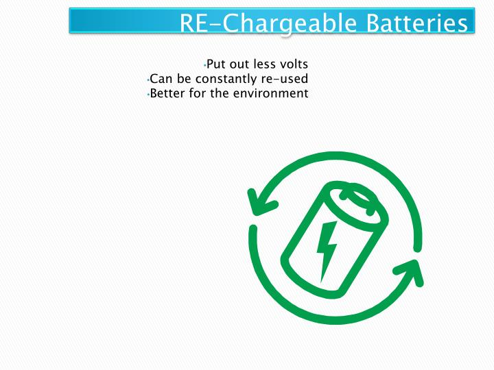 RE-Chargeable Batteries