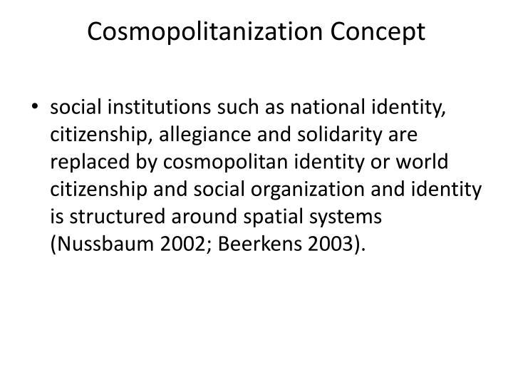 Cosmopolitanization