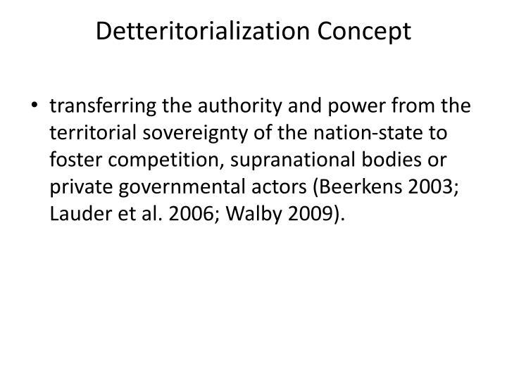Detteritorialization