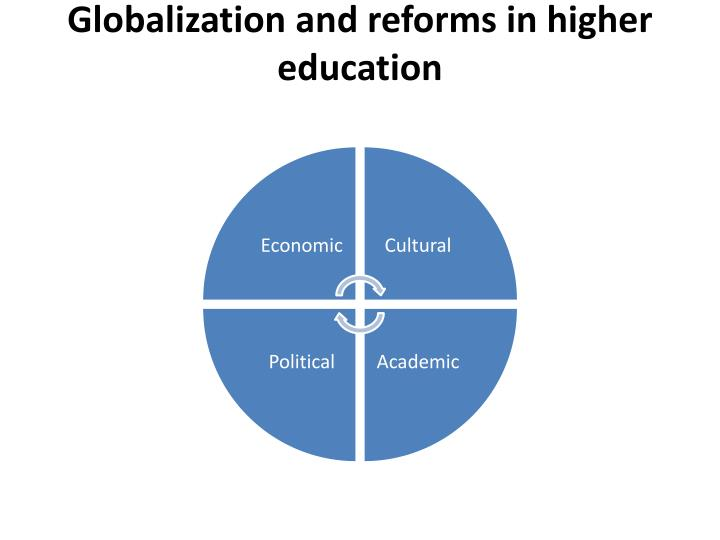 Globalization and reforms in higher education