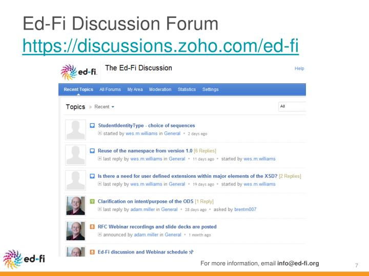 Ed-Fi Discussion Forum