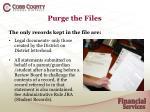 purge the files2