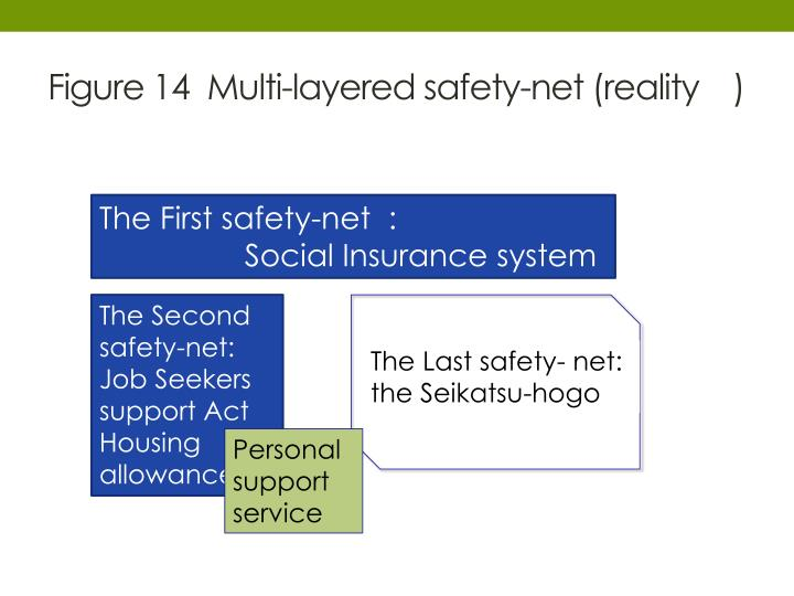 Figure 14  Multi-layered safety-net (reality )