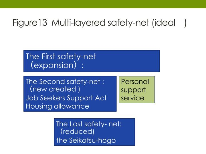 Figure13  Multi-layered safety-net (ideal )