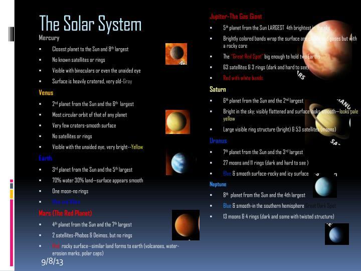 Jupiter-The Gas Giant