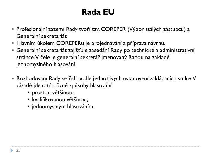 Rada EU