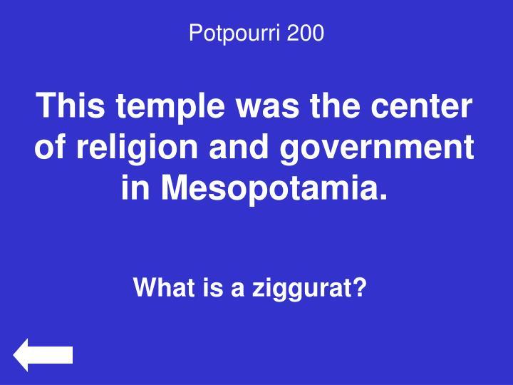 Potpourri 200