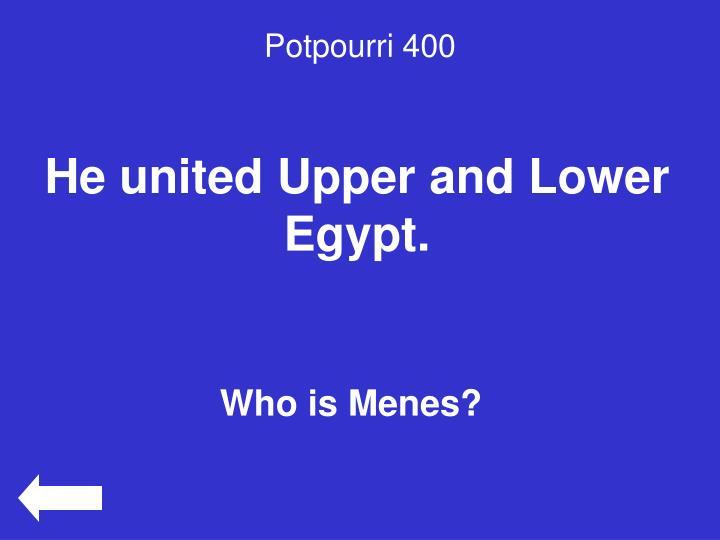 Potpourri 400