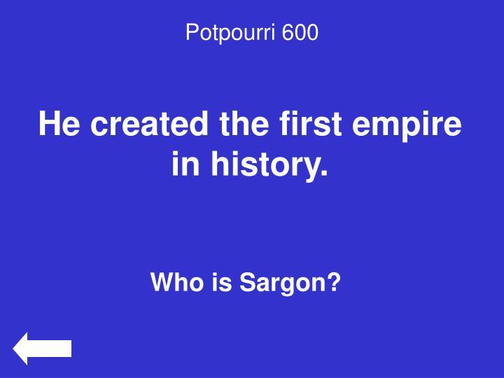 Potpourri 600