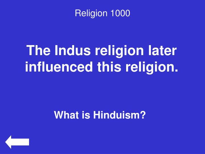 Religion 1000