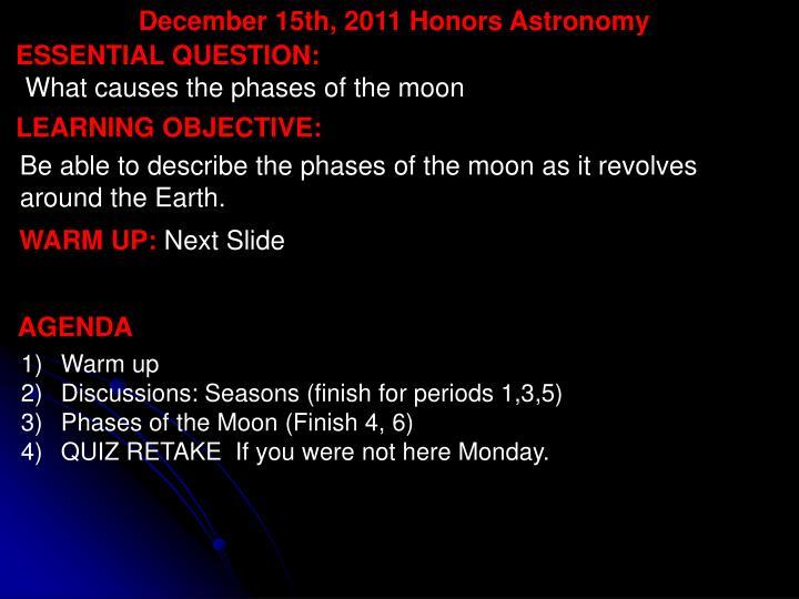 December 15th,