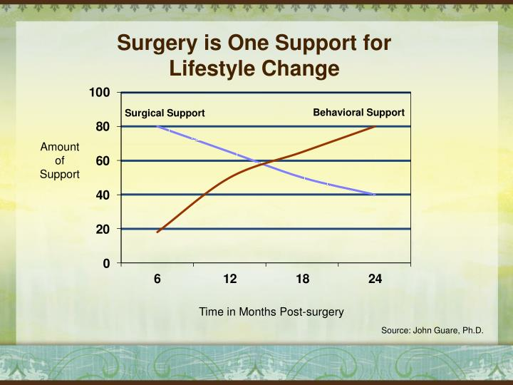 Surgery is One Support for Lifestyle Change