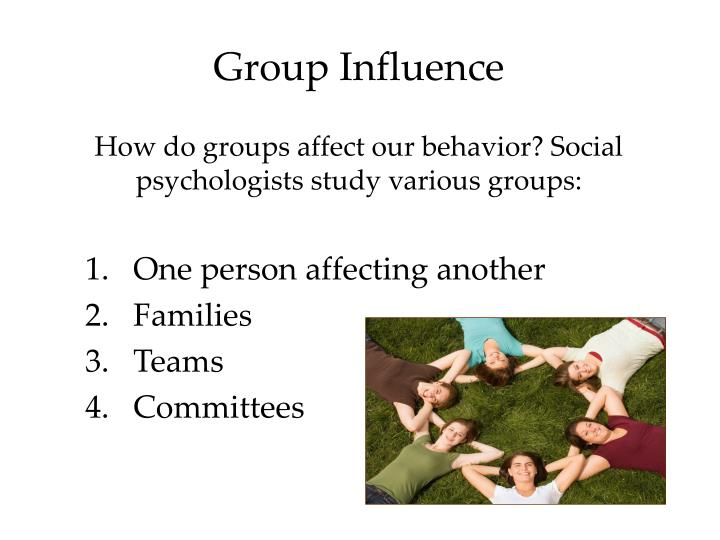 Group Influence