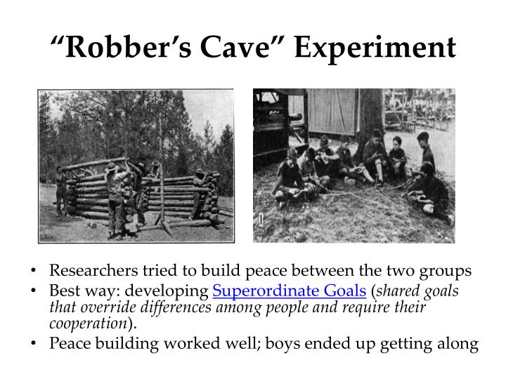 """Robber's Cave"" Experiment"