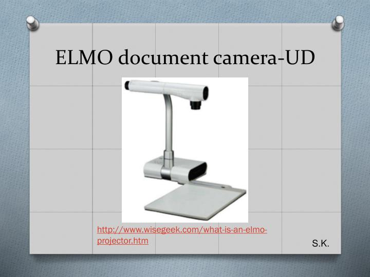 ELMO document camera-UD