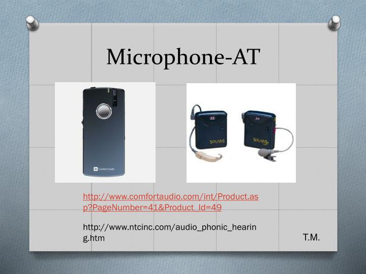 Microphone-AT