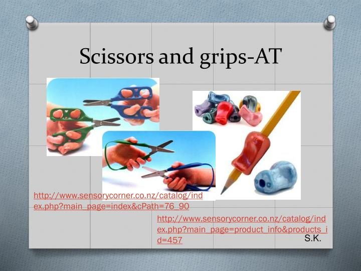 Scissors and grips-AT