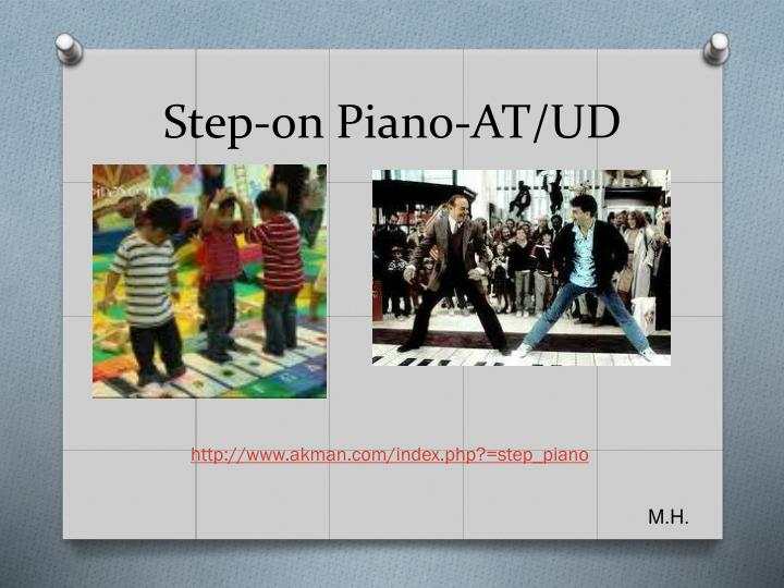 Step-on Piano-AT/UD